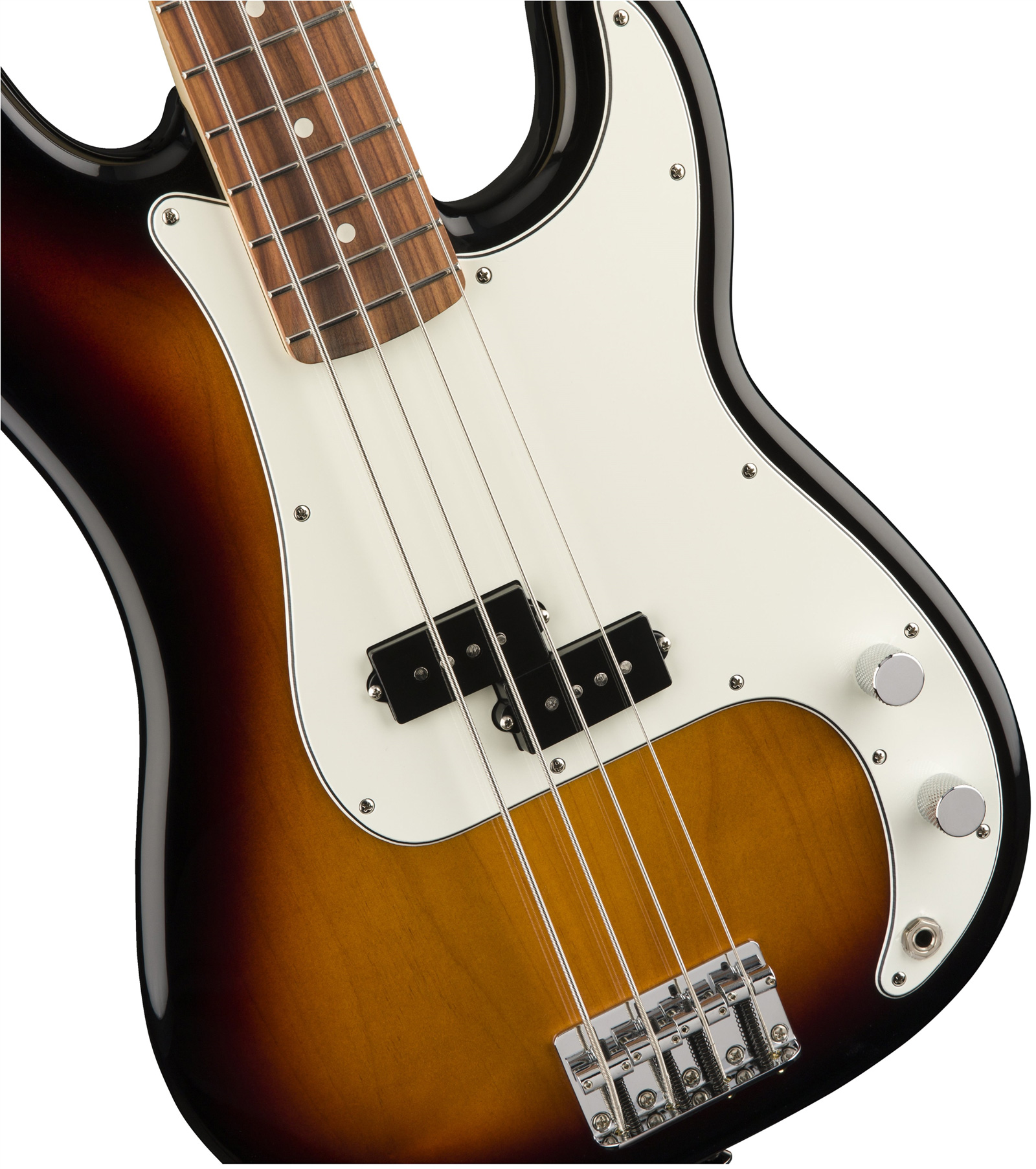 fender standard precision bass arctic white rosewood bas gitar. Black Bedroom Furniture Sets. Home Design Ideas