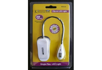 Kinsman KBL03 Single Flex 2 LED Light White
