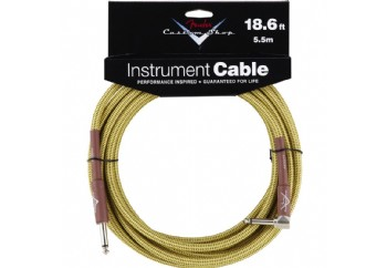 Fender Custom Shop Performance Series Cables Angled - Tweed (5.5 metre)