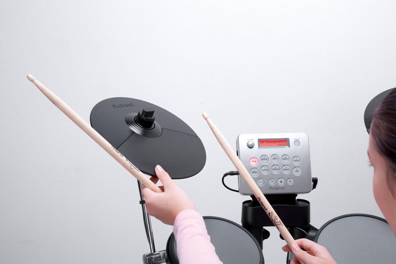 roland hd 3 v drums lite elektronik davul. Black Bedroom Furniture Sets. Home Design Ideas