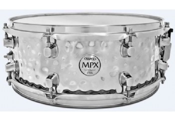 Mapex MPST4558H Hammered Steel Snare Drum