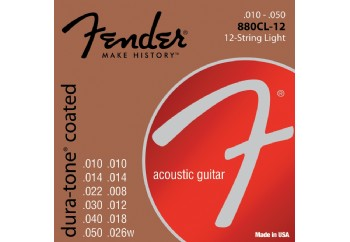 Fender 880CL12 80/20 Coated