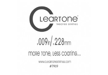 Cleartone Plain Single 009 - Tek Tel