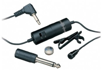 Audio-Technica ATR3350 Omnidirectional Condenser Lavalier Mic