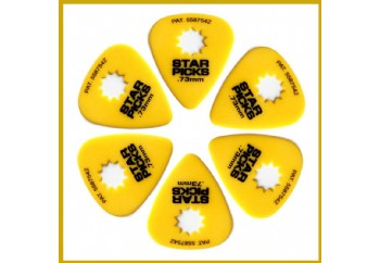 Star Picks Delrin Pack Yellow - 0,73 mm