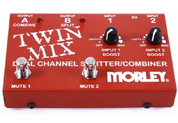 Morley Twin Mix Dual Channel Mixer/Combiner Pedal