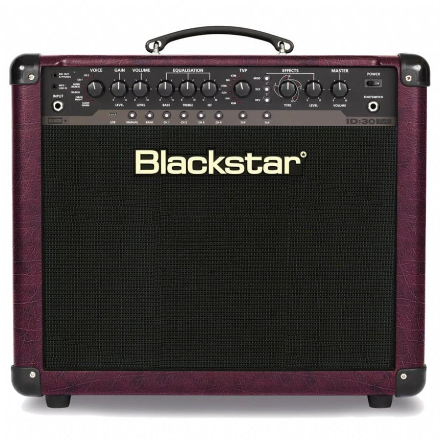blackstar id 30tvp 30 watt 1x12 combo guitar amp black elektro gitar amfisi. Black Bedroom Furniture Sets. Home Design Ideas