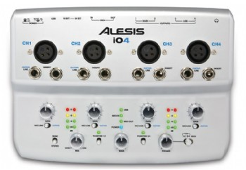 Alesis iO4 4-Channel 24-Bit Recording Interface