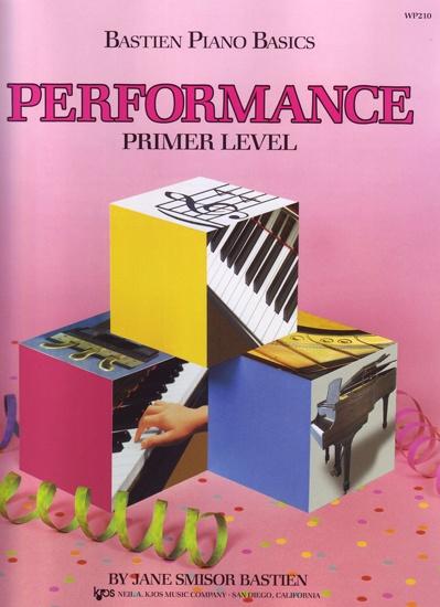 Kjos Bastien Piano Basics Primer Level Kitap James Bastien