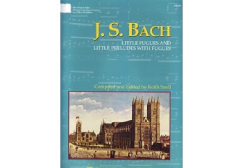 Kjos J.S.Bach Little Fugues and Little Preludes With Fugues Kitap