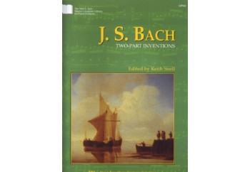 Kjos J.S.Bach - Two Part Inventions Kitap
