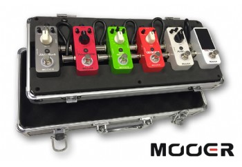 Mooer Firefly M6 Pedal Board Mini Flight Case FC-M6