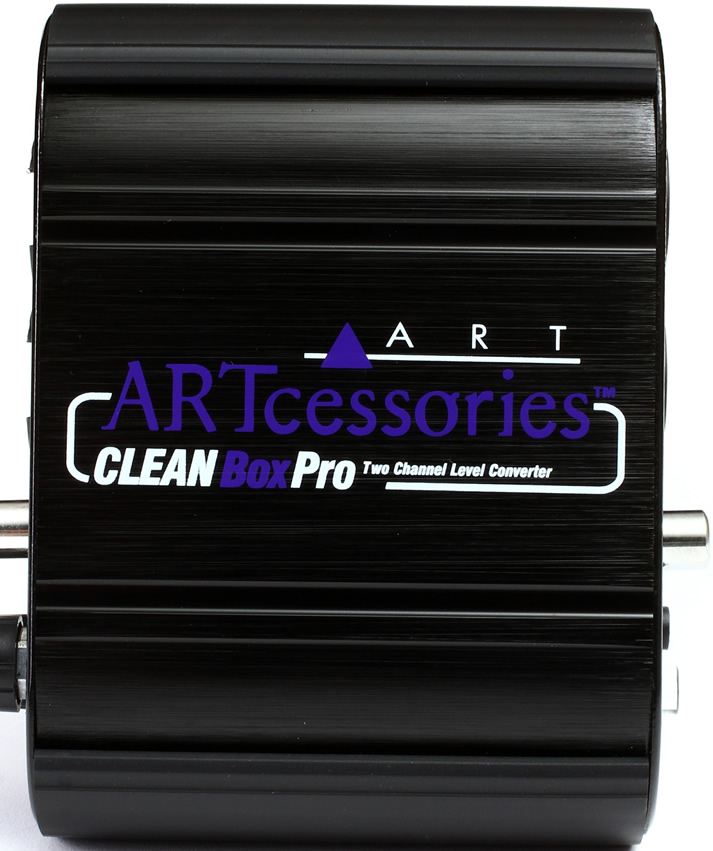 Art Line Level Converter : Art cleanboxpro dual channel level converter kanal