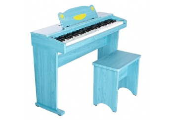 Artesia FUN-1 61-Key Childrens Digital Piano Mavi