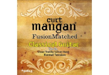 Curt Mangan 90613 Normal Tension Classical (Clear/Silver)