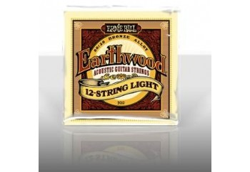 Ernie Ball 12-String Earthwood Light 80/20 Bronze