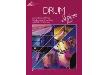Drum Sessions Book 1 Kitap