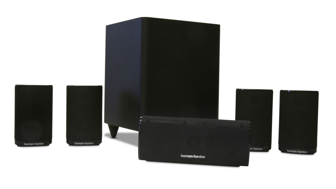 harman kardon hkts5 home cinema speaker system siyah ev. Black Bedroom Furniture Sets. Home Design Ideas