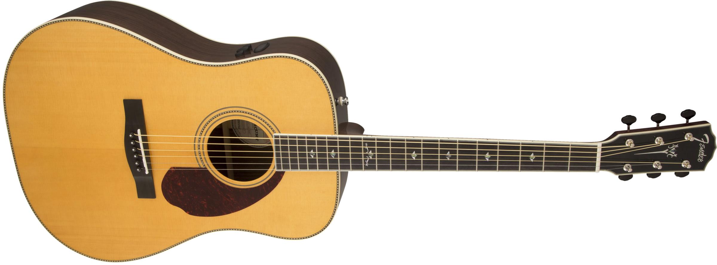 fender paramount series pm 1 deluxe natural elektro akustik gitar. Black Bedroom Furniture Sets. Home Design Ideas
