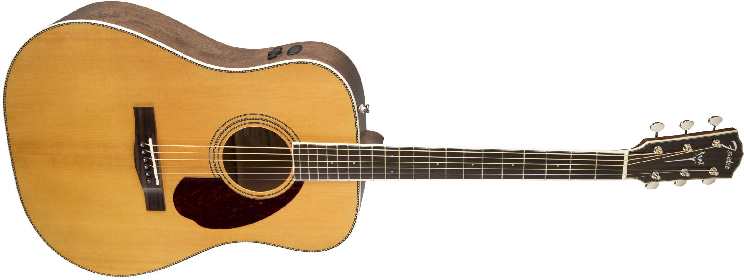 fender paramount series pm 1 standard natural elektro akustik gitar. Black Bedroom Furniture Sets. Home Design Ideas