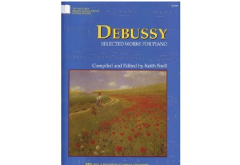 Debussy Selected Works For Piano Kitap