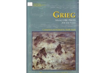 Grieg Selected Lyric Pieces For Piano Kitap