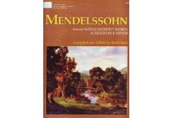 Mendelssohn Selected Songs Without Words Kitap
