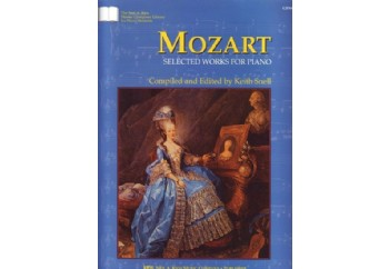 Mozart Selected Works for Piano Kitap
