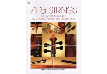 All For Strings - Theory Workbook 1 Kitap