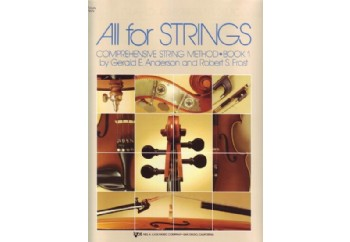 All For Strings Comprehensive String Method - Book 1 Kitap