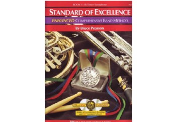 Standard of Excellence Enhanced Book 1 Tenor Saxophone Kitap