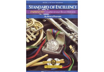 Standard of Excellence Enhanced Book 2 Tenor Saxophone Kitap