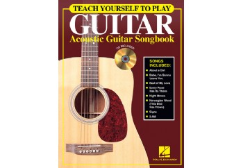 Hal Leonard Teach Yourself to Play Guitar Acoustic Guitar Songbook