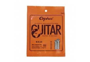 Orphee NX35 Nylon Classical Guitar Strings - Hard Tension