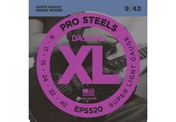 D'Addario EPS520 ProSteels, Super Light, 9-42