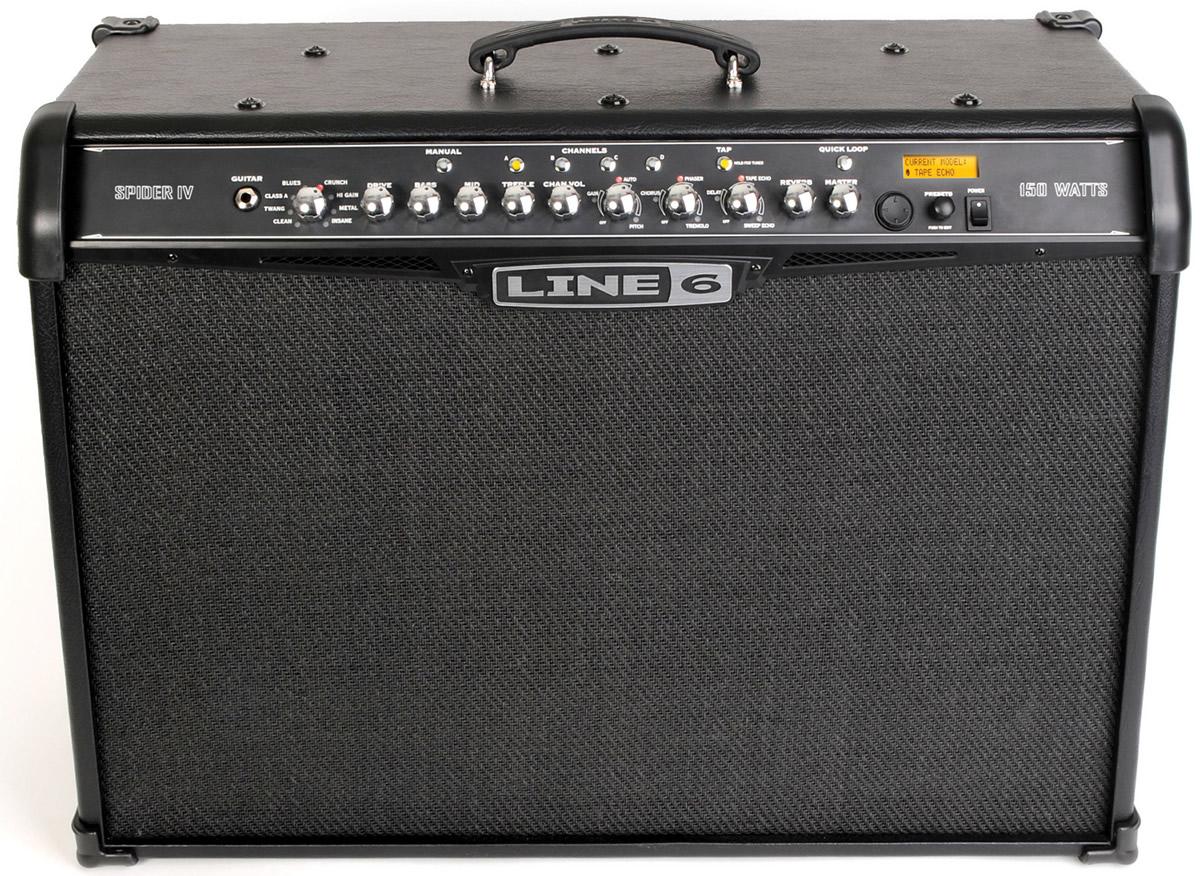 line 6 spider iv 150 elektro gitar amfisi. Black Bedroom Furniture Sets. Home Design Ideas